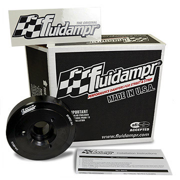 Fluidampr Box with Damper, Sticker, Instructions
